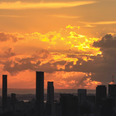 Mt Cootha Sunrise Time-lapse – April 2014